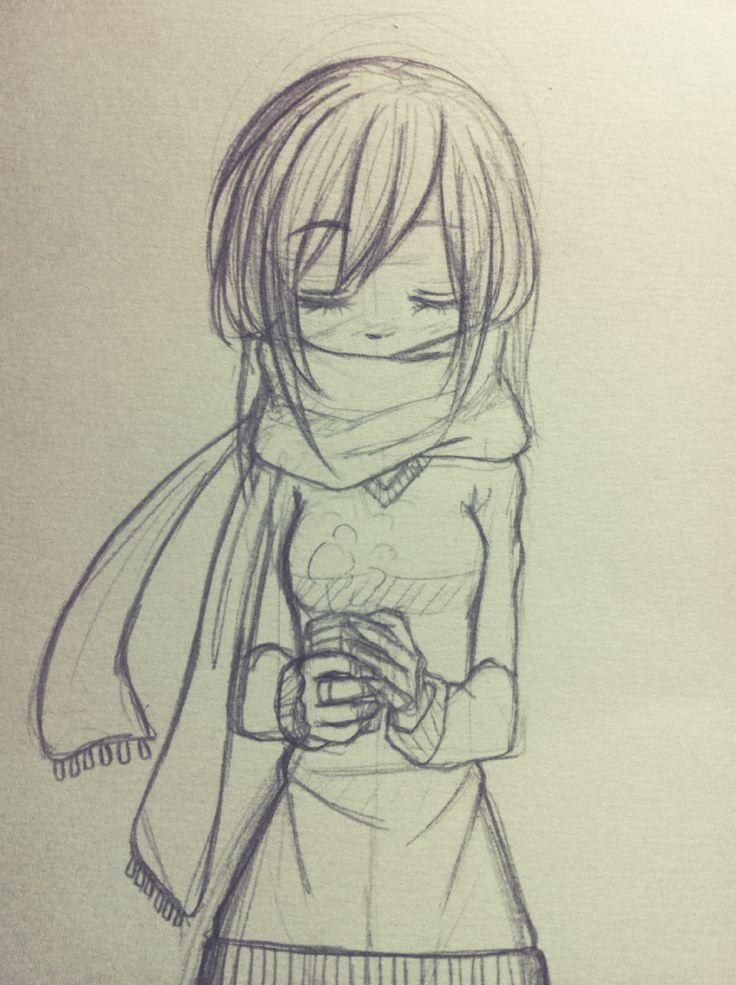 Girl Drawing Manga At Getdrawings Com Free For Personal Use Girl