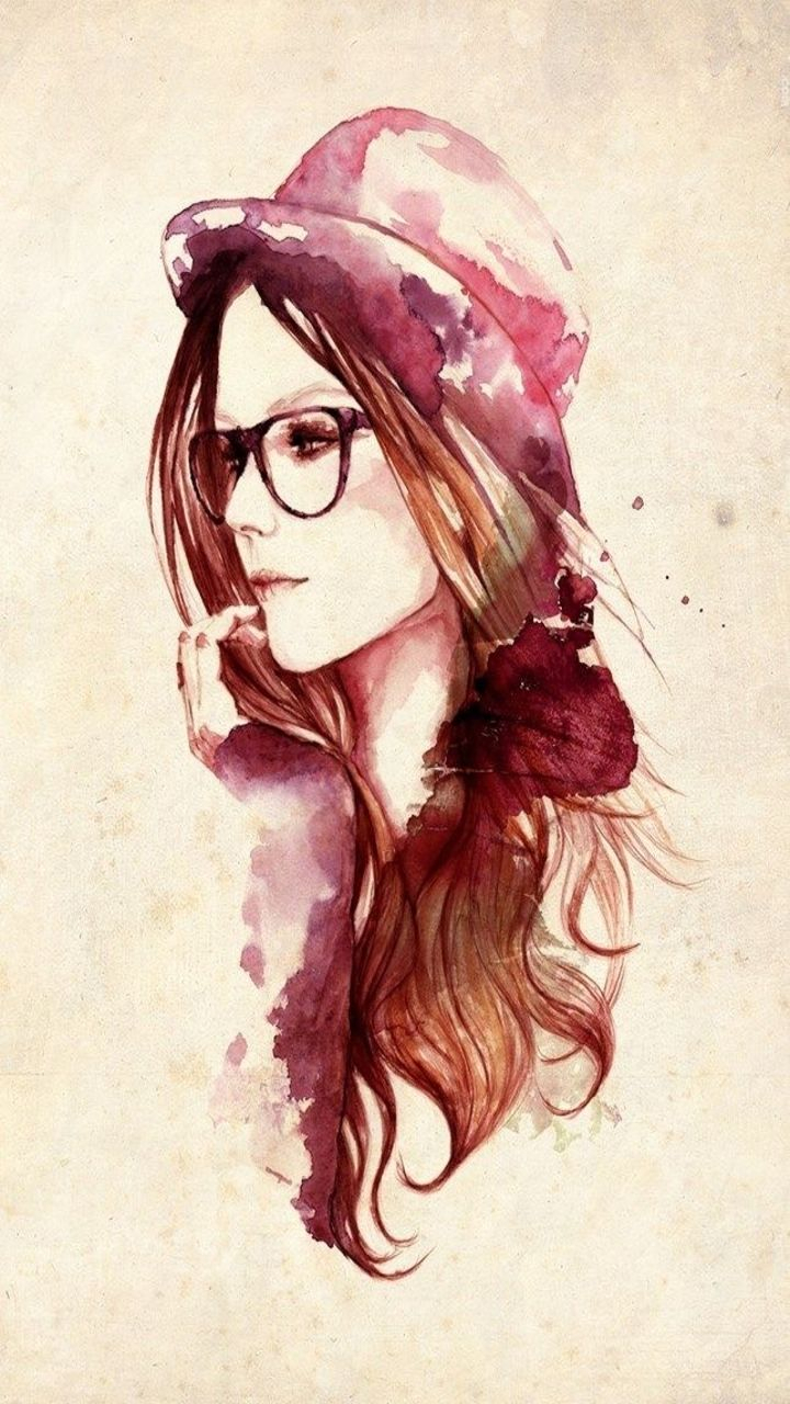 girl drawing wallpaper at getdrawings | free for personal use