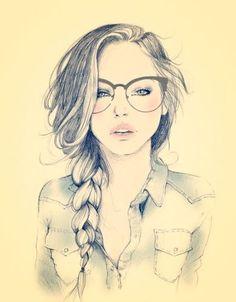 236x302 Photos Cute Girl Sketch Wallpaper,