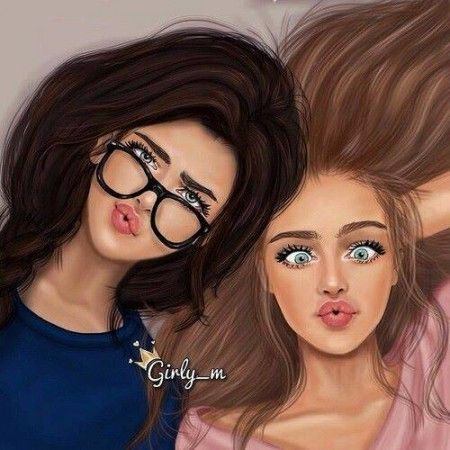 450x450 Beauty Colors Girls Cute Lindas Drawing Eyes Forever Fun Best
