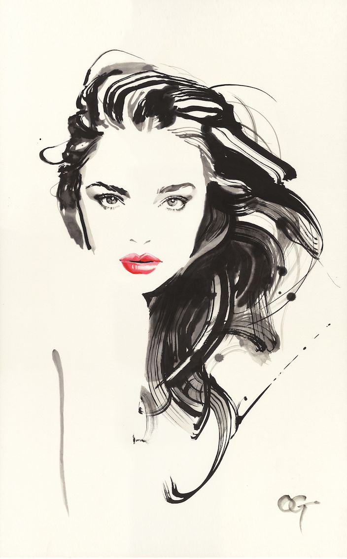 704x1134 Girl Face Art Pic Draw Best Watercolor Face Ideas