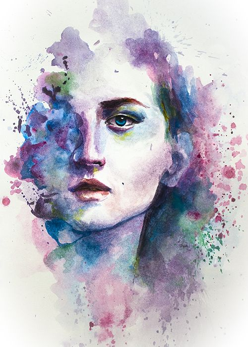500x700 Image Result For Watercolor Art Portraits