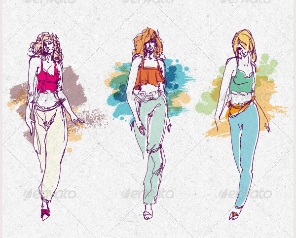 600x483 Best Fashion Design Sketches For Your Inspiration Free