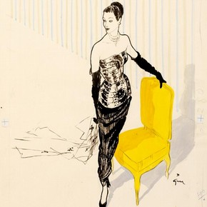 290x290 Fashion Drawing And Illustration In The 20th Century
