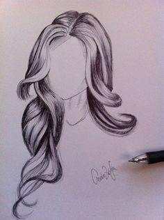 236x316 Long Hair Drawings Tumblr Tumblr Girl Hair Drawing
