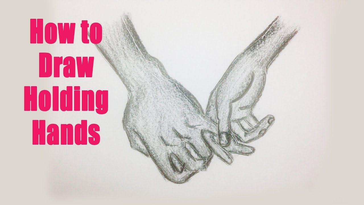 1280x720 How To Draw Holding Hands 02