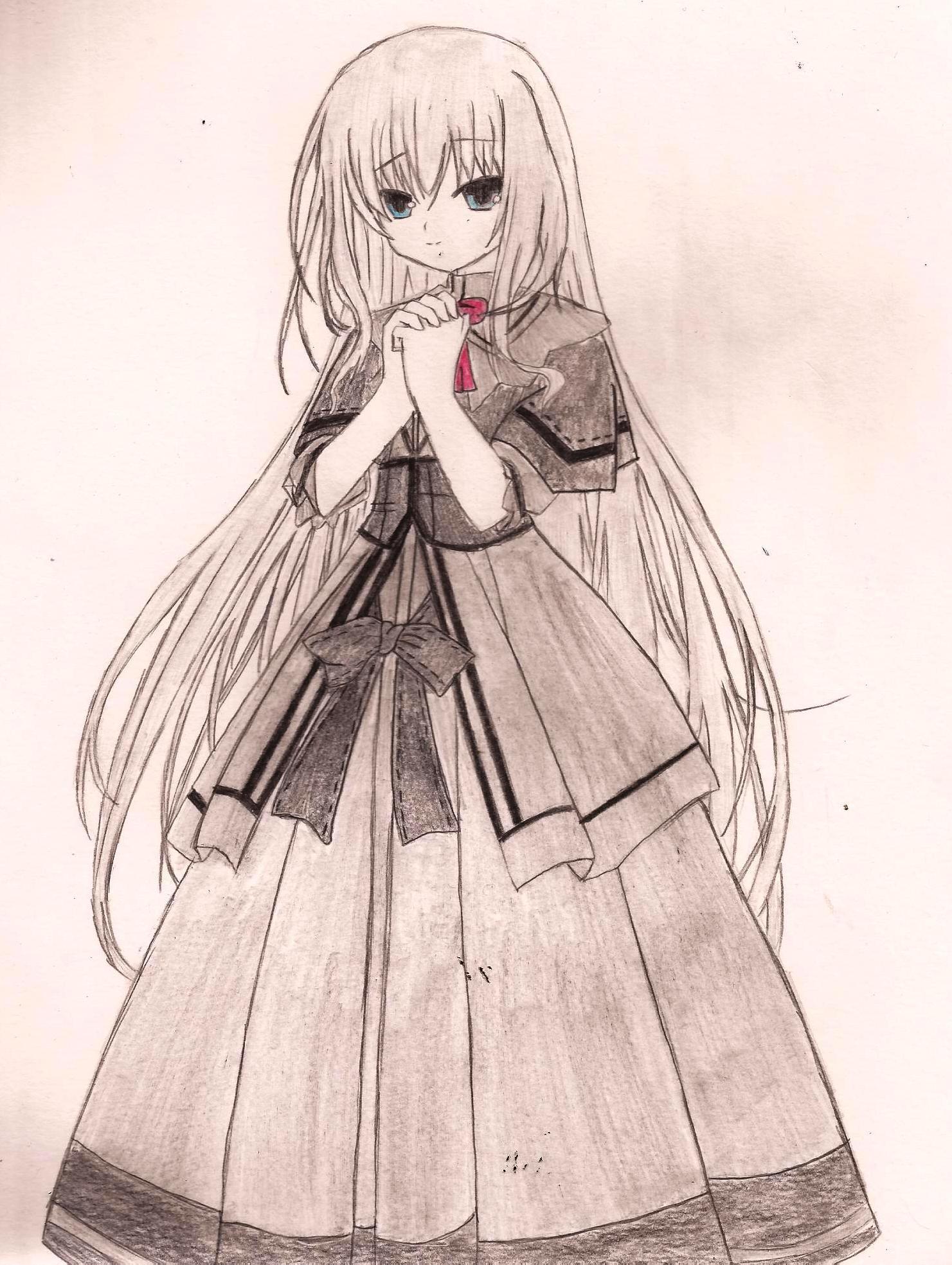 1481x1969 Anime Drawing Dress Anime Dress Drawing