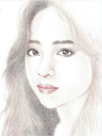 425x567 gallery beautiful girl pencil sketch