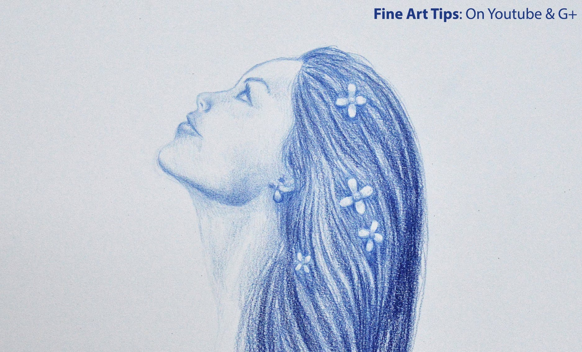 1874x1134 Drawing A Girl In Profile