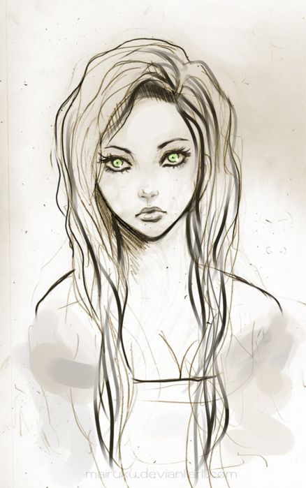 438x699 pictures cartoon beautiful girl sketch