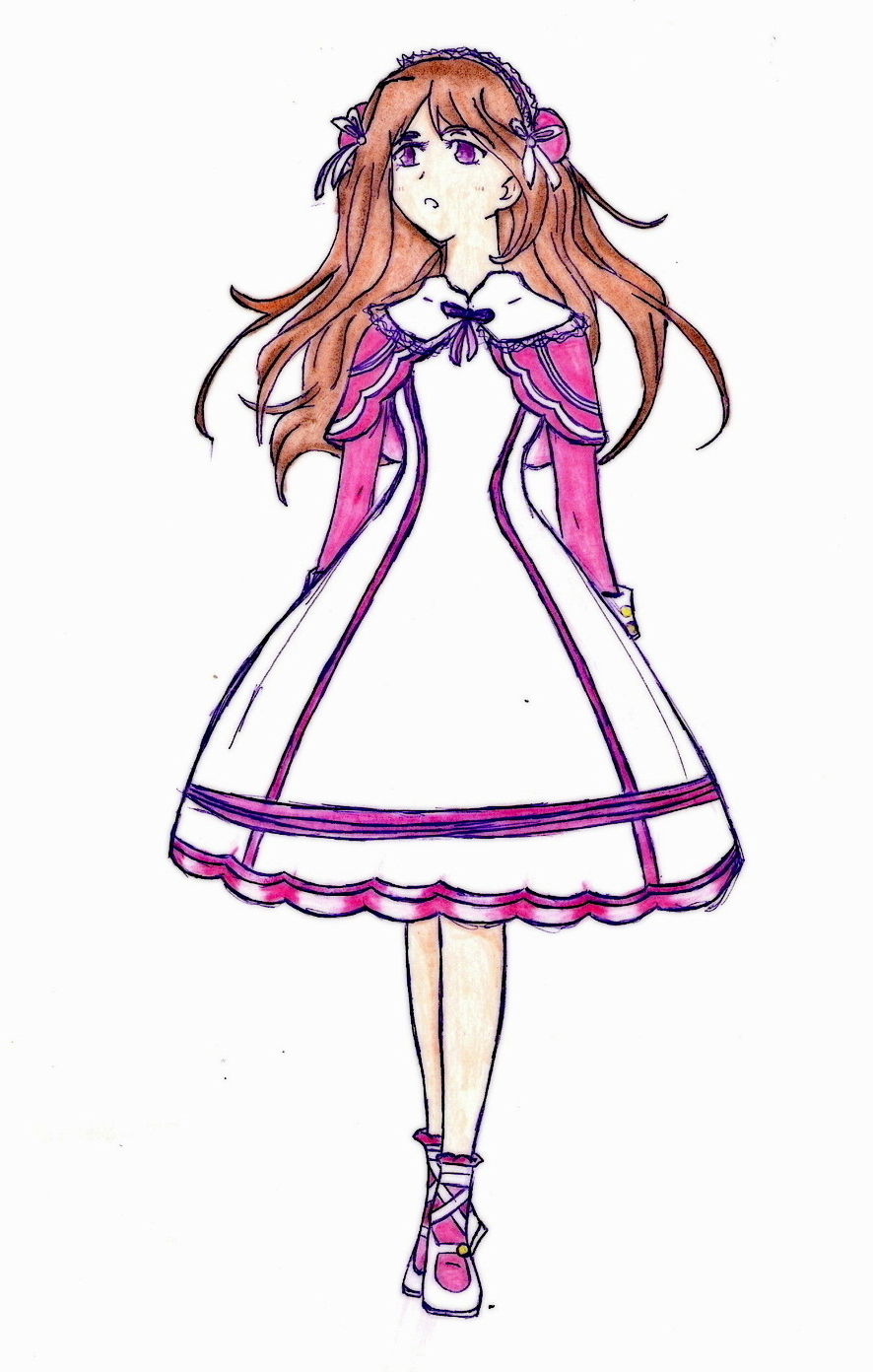 886x1392 Easy Anime Girl Drawing Whole Body Anime Girls Drawing Whole Body