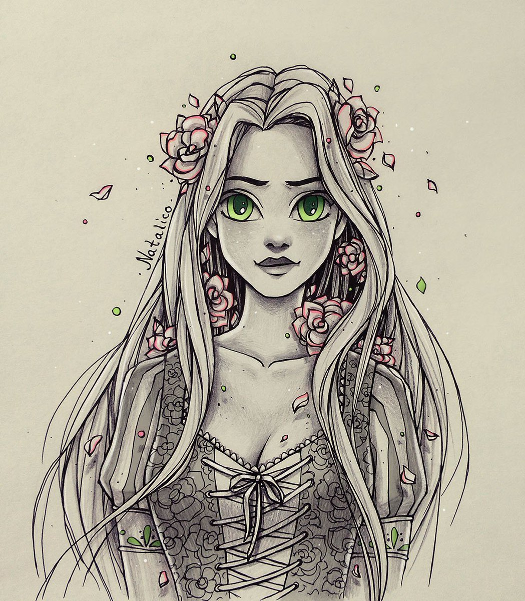 1049x1200 Natalico On Twitter Roses In Her Hair