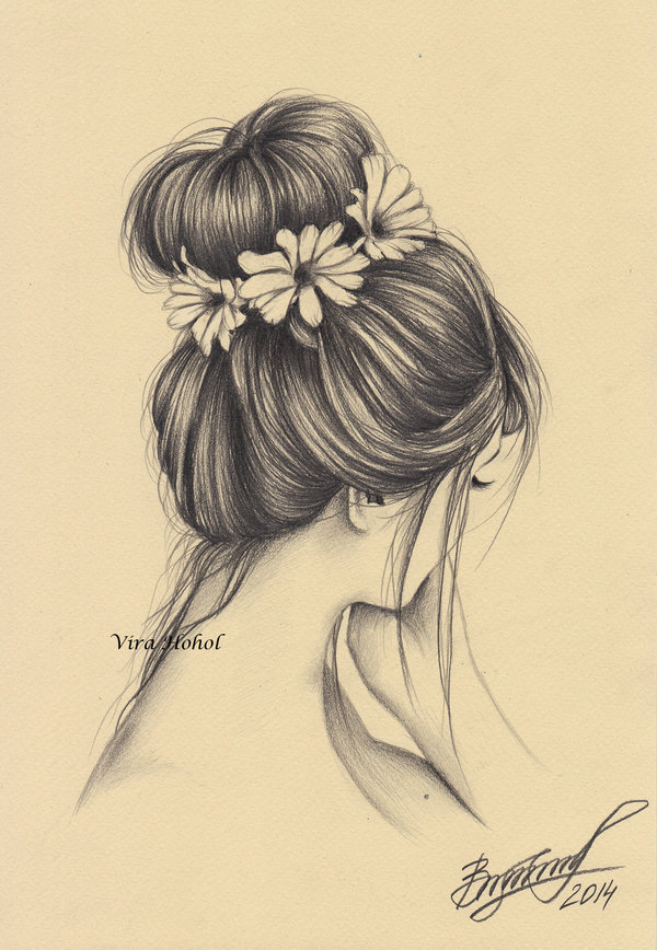 600x868 She Wore Flowers In Her Hair By
