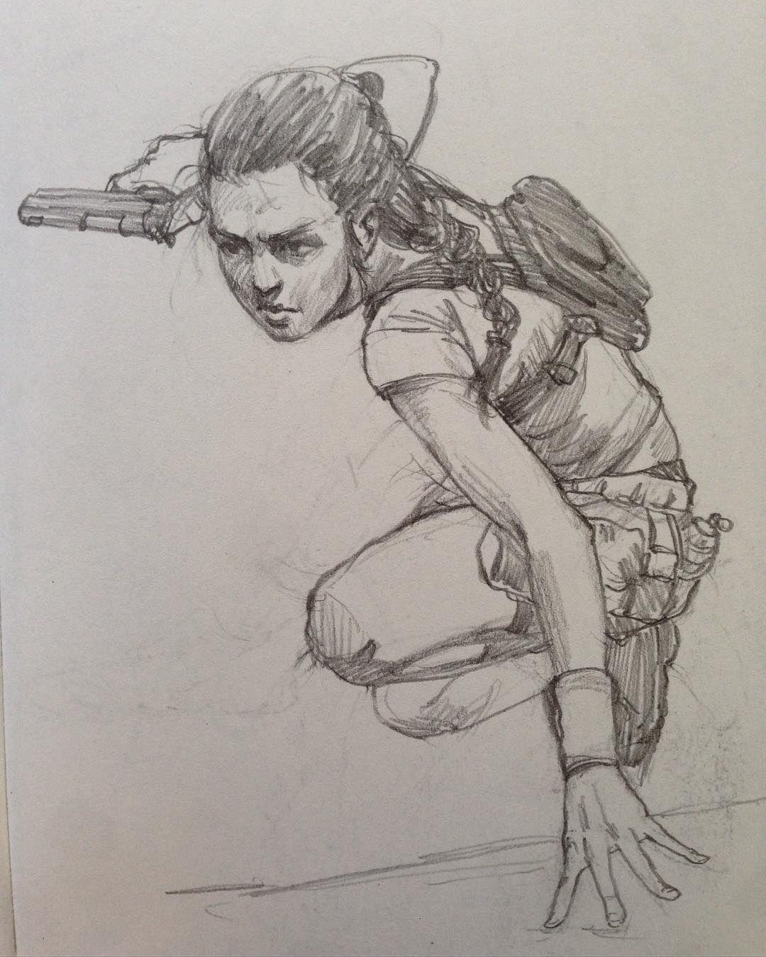 1080x1349 I Call This A Tomb Raider Sketch.
