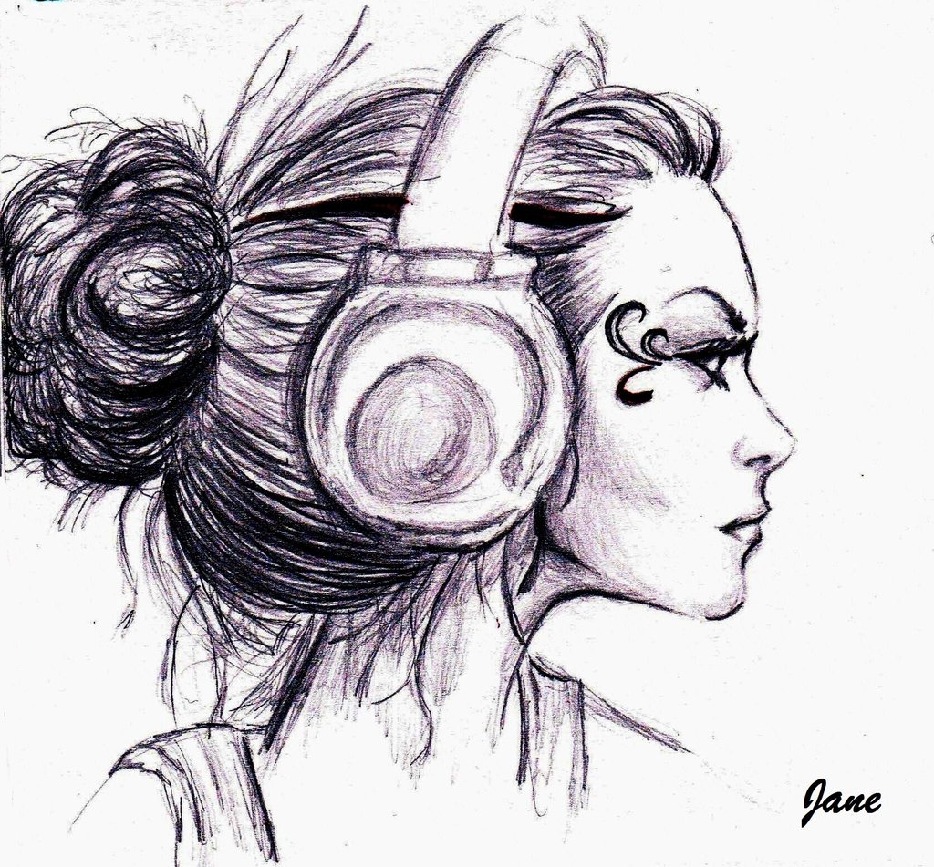 1024x951 Images For Gt Drawings Of Headphones Things To Draw