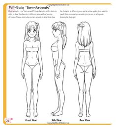 236x262 How To Draw Anime Side View