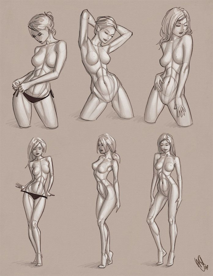 696x900 Pictures Sketches Of Women Bodies,