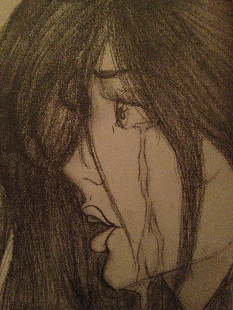 774x1032 Girl Crying By Kaleidoscopeheavens
