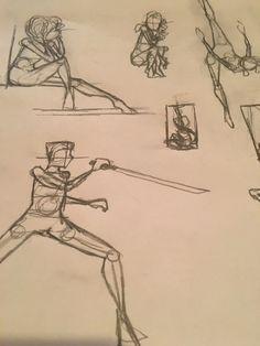 236x314 Figure Drawing. Girl Dancing Personal Art Drawing