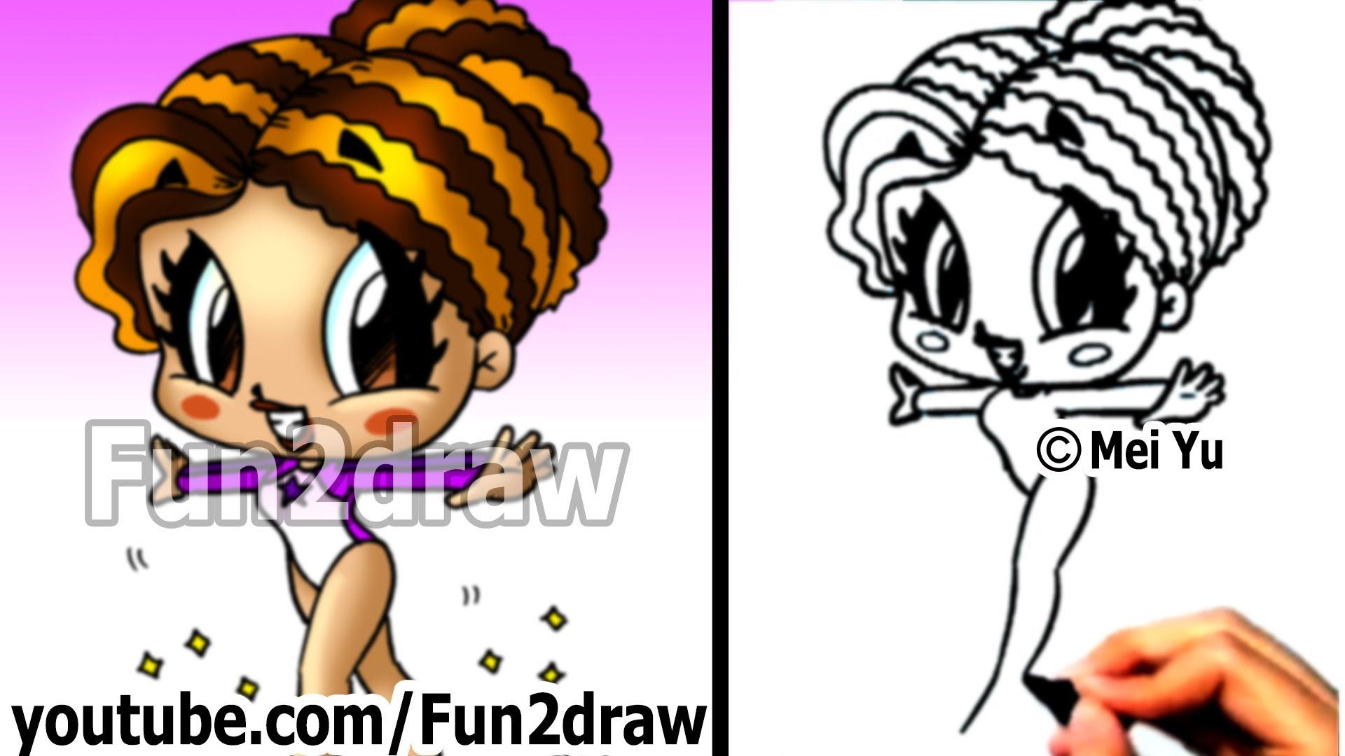 1920x1080 How To Draw Cartoon People