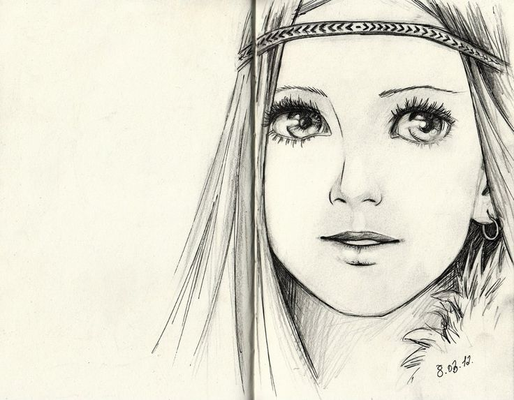 Girls Face Drawing At Getdrawings Com Free For Personal Use Girls