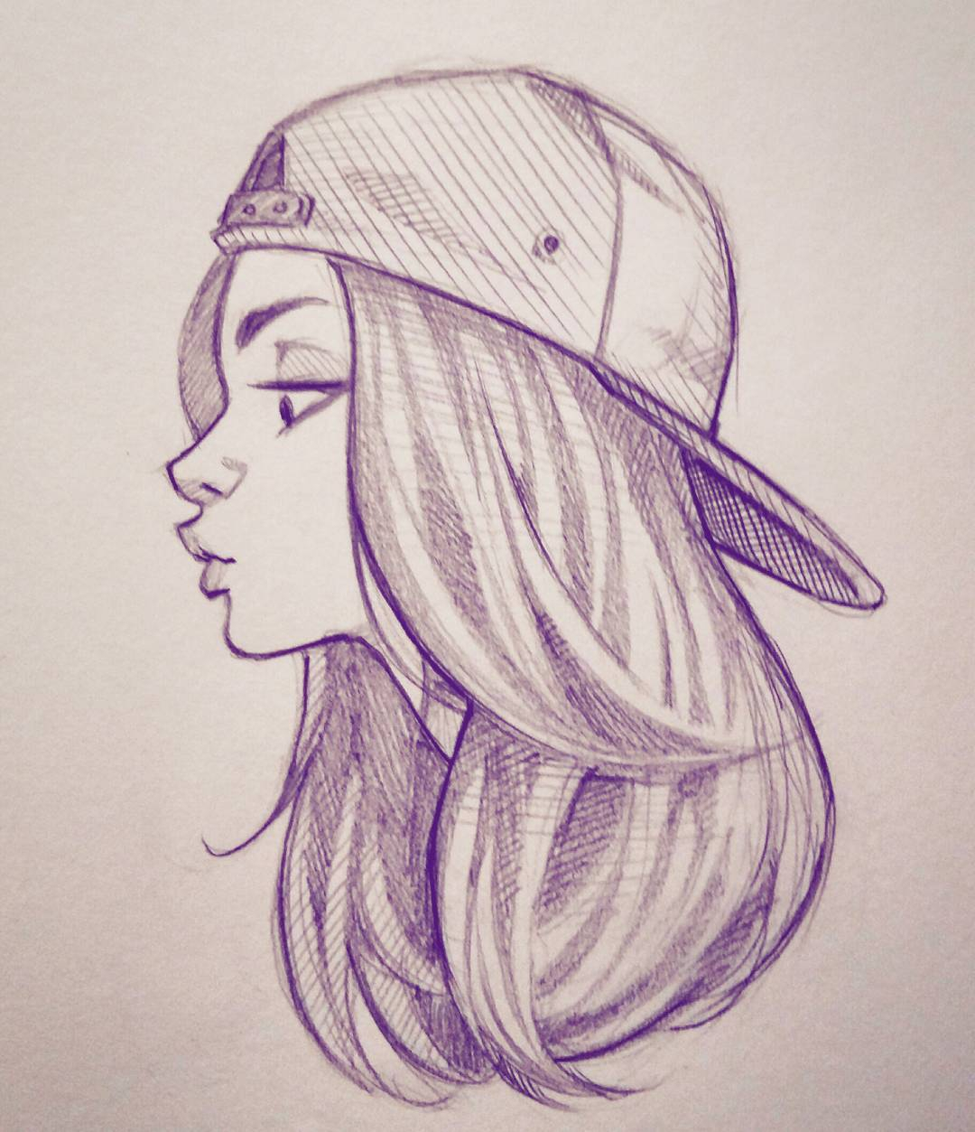 1080x1253 I Sketch Wallpaper Only Girl Face Simple Sketch Girls Only Face