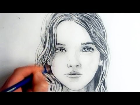 480x360 How To Draw A Female Face Step By Step