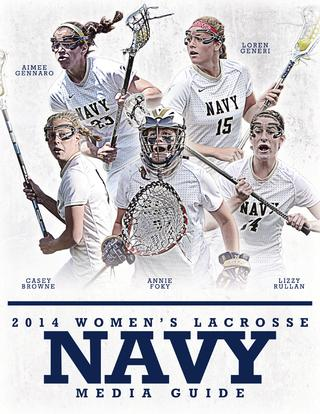320x414 2015 Women's Lacrosse By Naval Academy Athletic Association