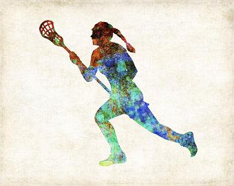 340x270 Lacrosse Art Etsy