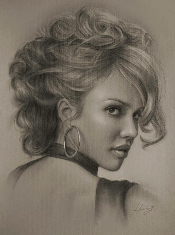 595x800 25 beautiful pencil drawings from top artists around the world