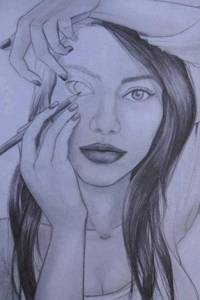 Sex teen Pencil of drawings