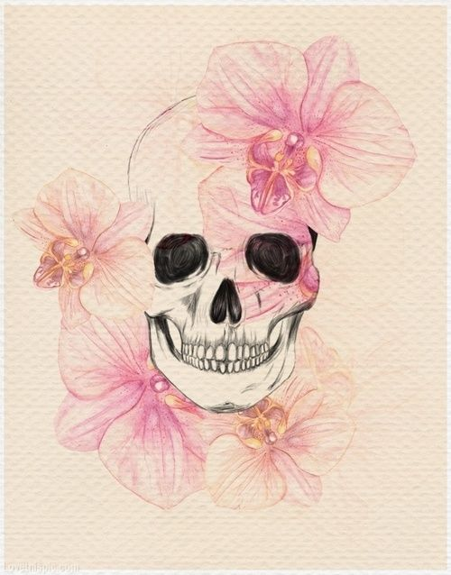 Girly skull drawing at getdrawings free for personal use girly 500x638 frilly skull pink art abstract skull skeleton frilly tattoos mightylinksfo