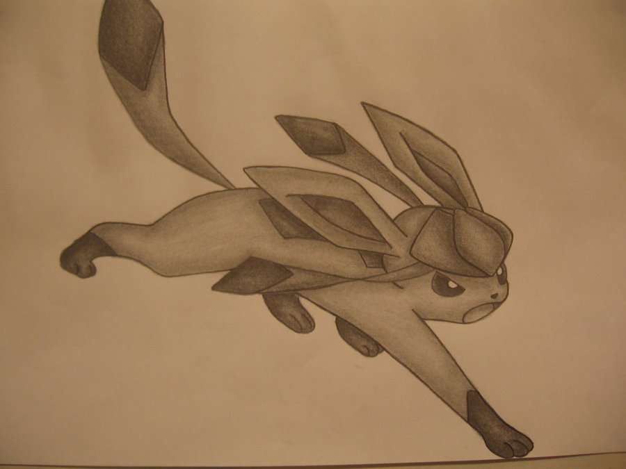 900x675 Glaceon Drawing