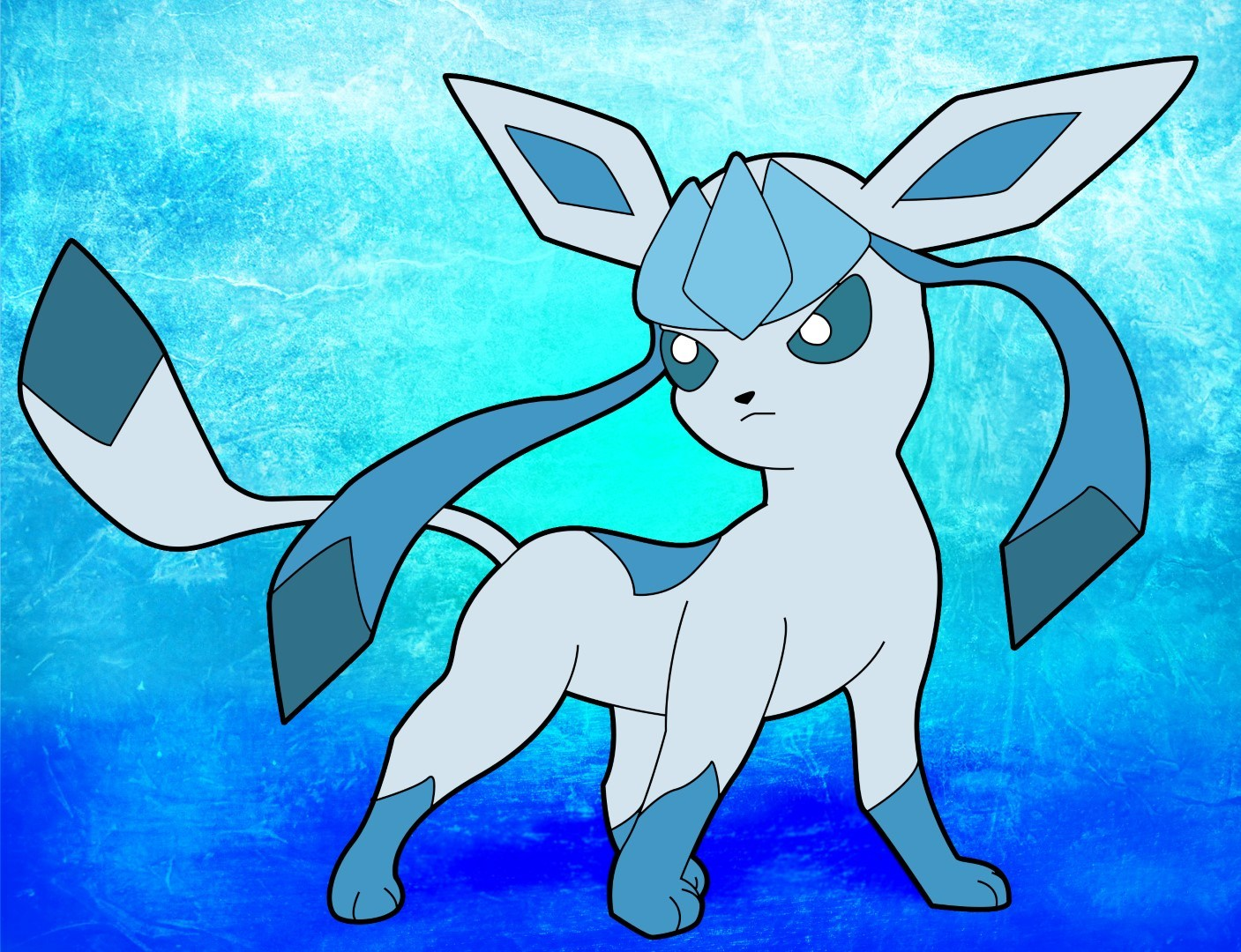 1407x1080 How To Draw Glaceon