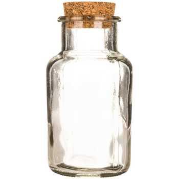 350x350 250ml Glass Bottle With Cork Hobby Lobby 1156470