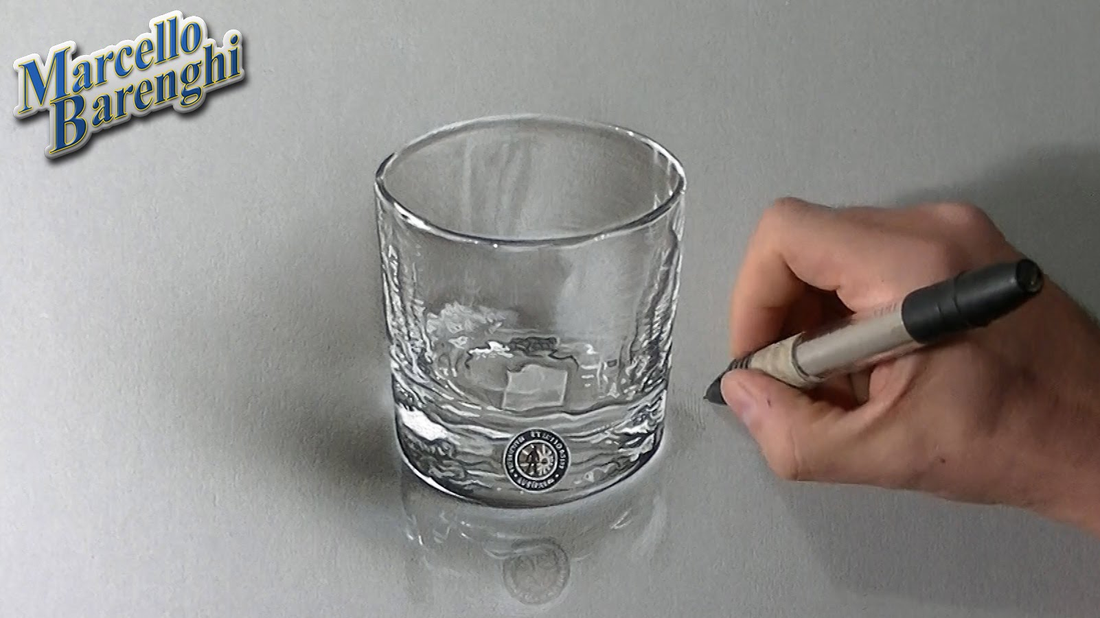 1602x901 Drawing Time Lapse A Whisky Glass