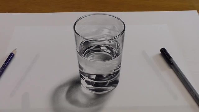 640x360 How To Draw A Glass Of Water