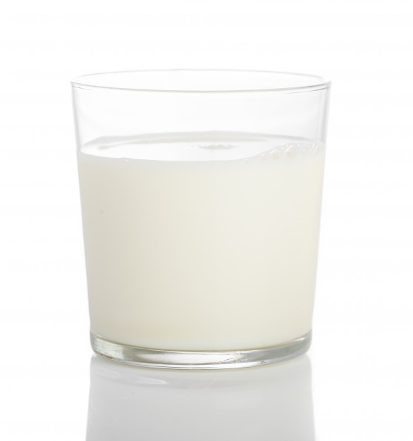 586x626 Close Up Of Glass Of Milk Photo Free Download