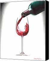166x200 Drawingsketchdoodleillustration Of A Wine Glass With Pencil