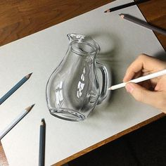 236x236 Glass Of Water Drawing Pencil Water Drawing, Water
