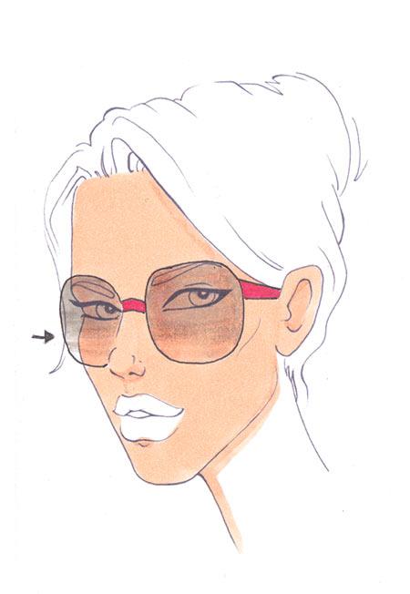 450x652 How To Draw Sunglasses I Draw Fashion