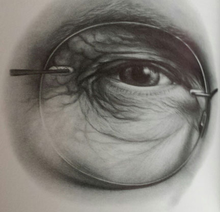 432x417 One Challenge Of Drawing Faces Art Faces, Drawings And Eye