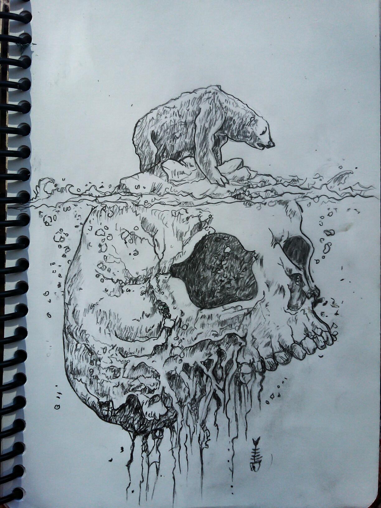 1224x1632 Global Warming Illustration Sketch My Drawings
