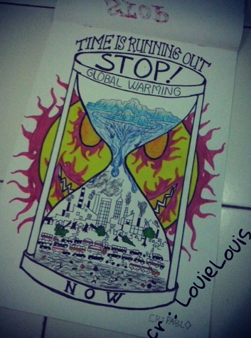 353x475 Manual Hand Drawing Stop Global Warming Part 2 By