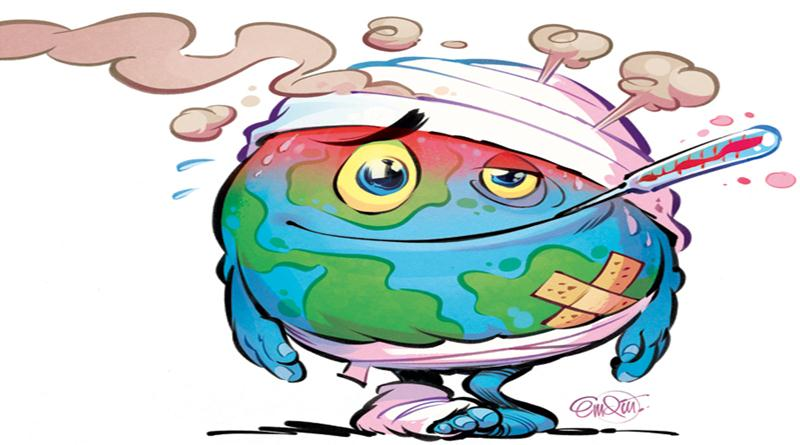 800x445 Beautiful Paintings, Drawings, Pictures On Global Warming