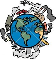 191x200 Global Warming Freehand Drawing From Pictofigo