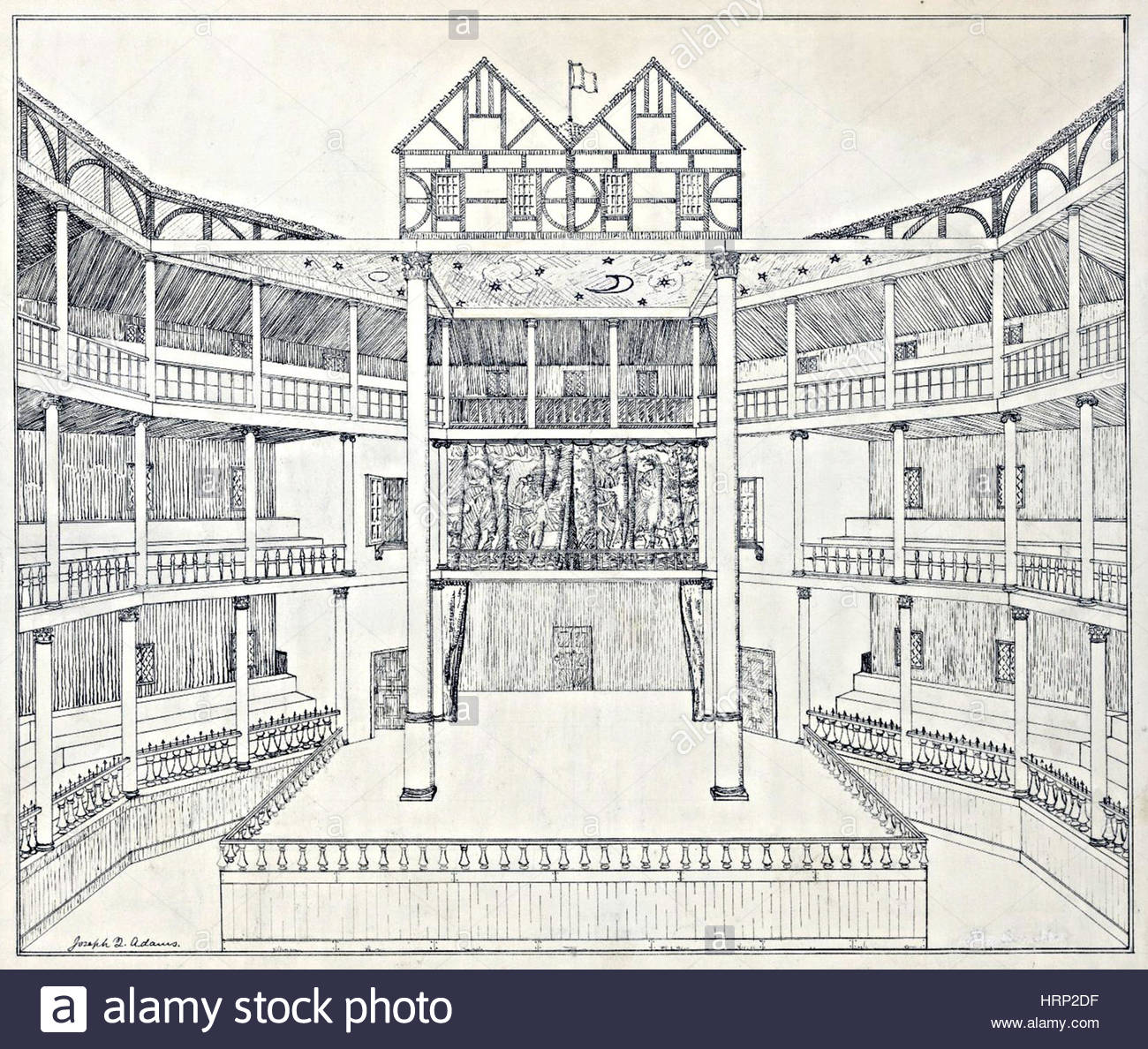Globe theater drawing at getdrawings free for personal use 1300x1188 shakespeare39s globe theatre reconstruction stock photo 135094555 malvernweather Images