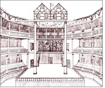353x297 Shakespeare And The Globe Theatre Architecture, Globe