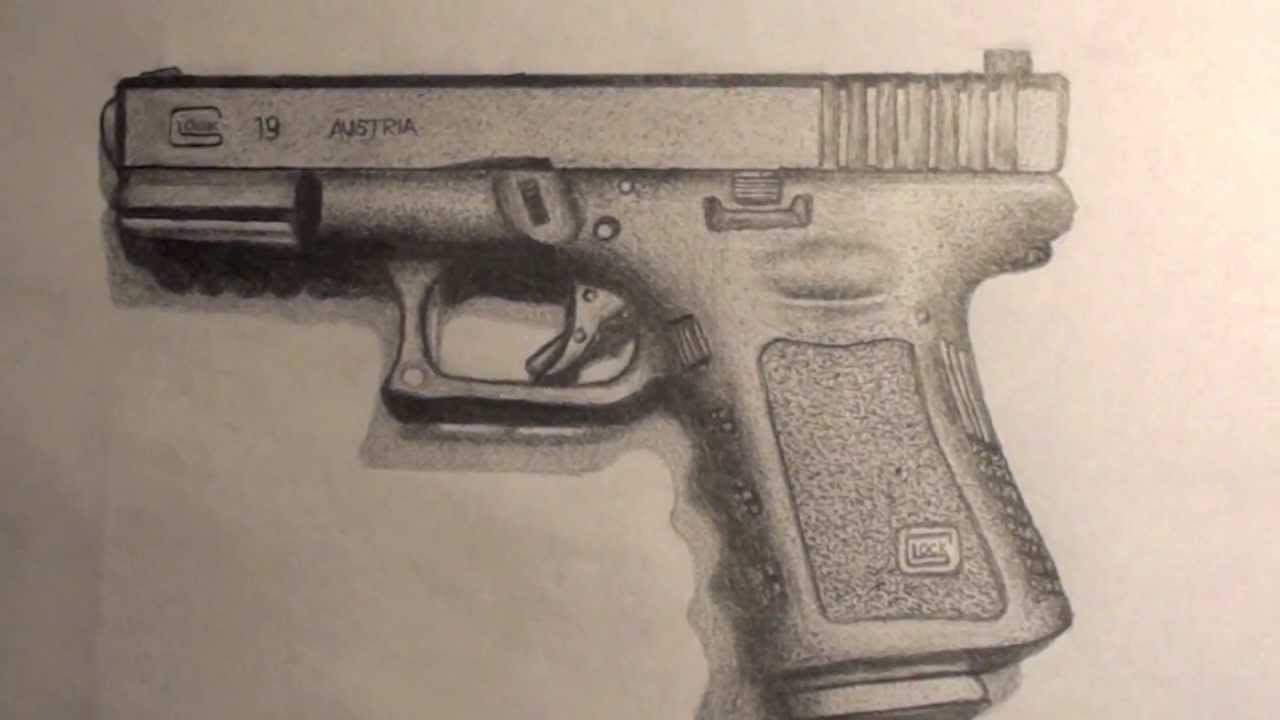 Glock Drawing at GetDrawings com | Free for personal use