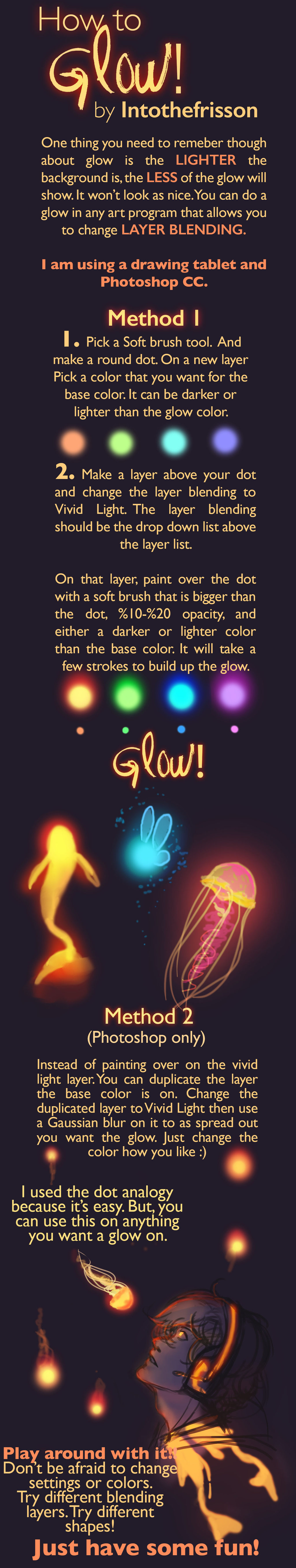 1024x5421 How To Glow! Tutorial Glowing By Intothefrisson